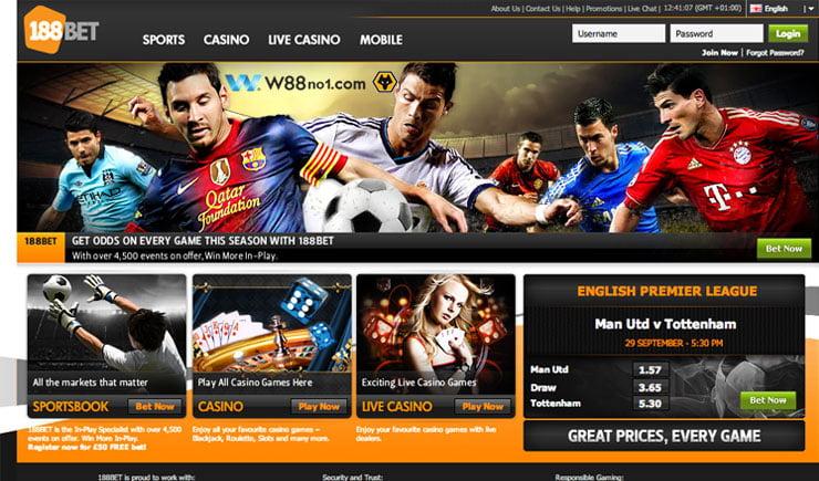 Trang web cá độ bóng đá trực tuyến 188Bet