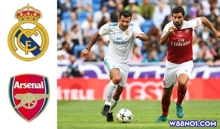Soi kèo tỷ số bóng đá trận Real Madrid vs Arsenal