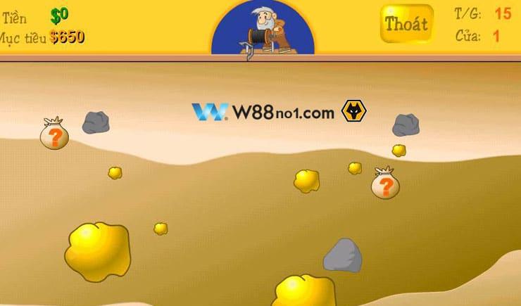 chơi game đào vàng online