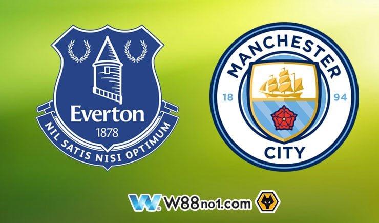 Soi kèo tỷ số nhà cái trận Everton vs Manchester City