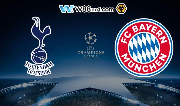 Soi kèo tỷ số nhà cái trận Tottenham vs Bayern Munich
