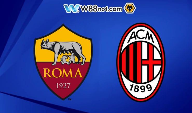 Soi kèo tỷ số nhà cái trận Roma vs AC Milan
