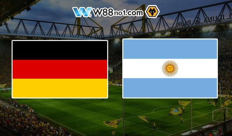 Soi kèo tỷ số nhà cái trận Đức vs Argentina