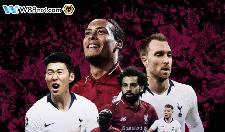 Soi kèo tỷ số nhà cái trận Liverpool vs Tottenham