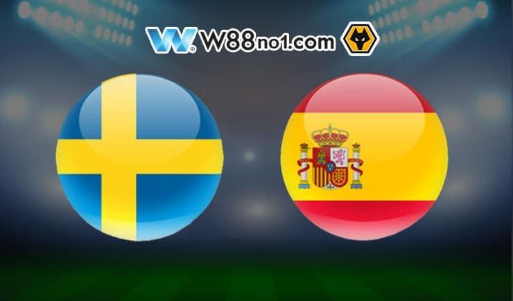 Soi kèo tỷ số nhà cái trận Thụy Điển vs Tây Ban Nha