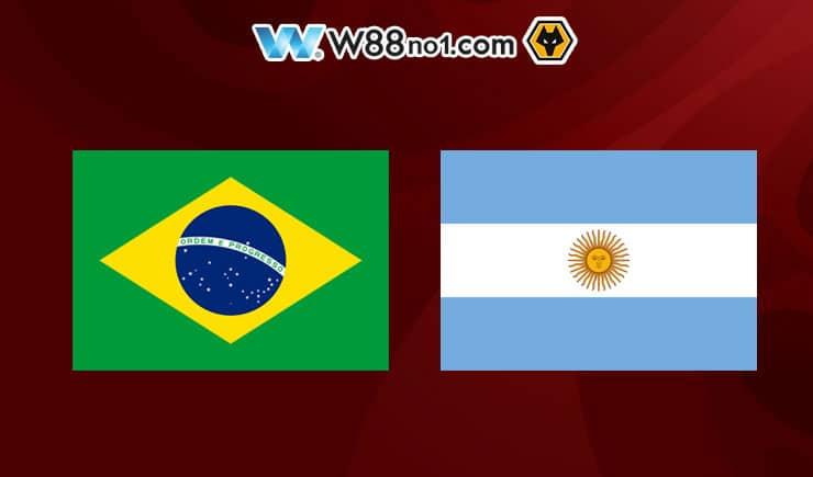 Soi kèo tỷ số nhà cái trận Brazil vs Argentina