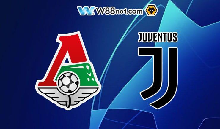 Soi kèo tỷ số nhà cái trận Lokomotiv Moscow vs Juventus