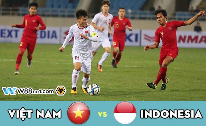 Soi kèo tỷ số nhà cái trận Việt Nam vs Indonesia