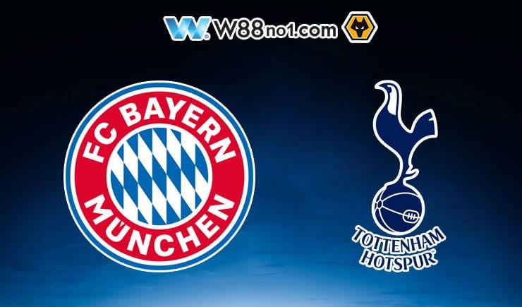 Soi kèo ty số nhà cái trận Bayern Munich vs Tottenham