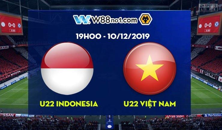 Soi kèo tỷ số nhà cái trận U22 Indonesia vs U22 Việt Nam