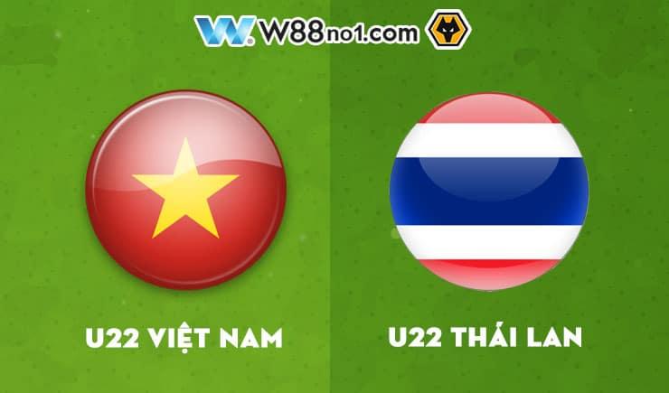 Soi kèo tỷ số nhà cái trận U22 Việt Nam vs U22 Thái Lan