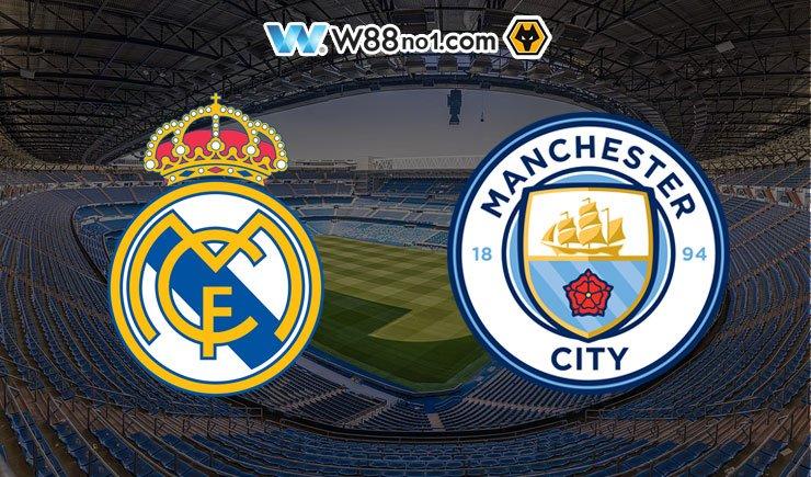 Soi kèo tỷ số nhà cái trận Real Madrid vs Manchester City