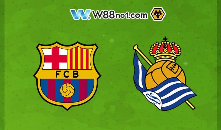 Soi kèo tỷ số nhà cái trận Barcelona vs Real Sociedad