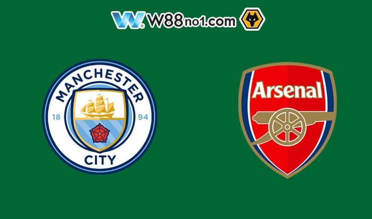 Soi kèo tỷ số nhà cái trận Manchester City vs Arsenal,