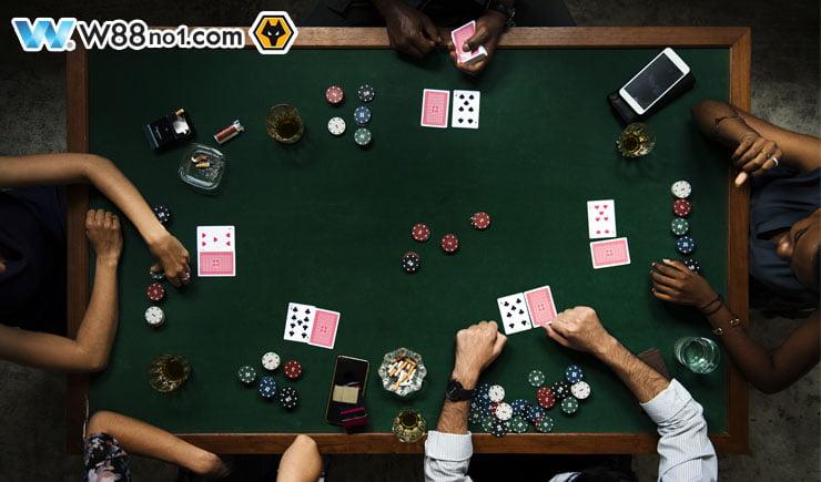 Tầm quan trọng của vị trí trên bàn Poker tại sòng casino
