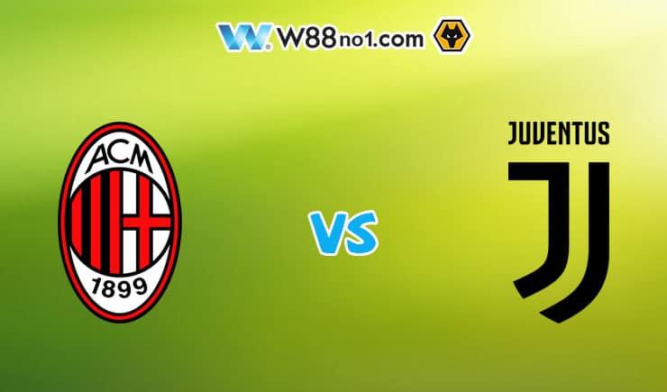 Soi kèo tỷ số nhà cái trận AC Milan vs Juventus