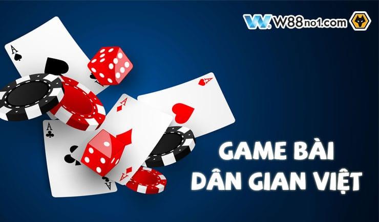Top các game bài dân gian Việt Nam phổ biến