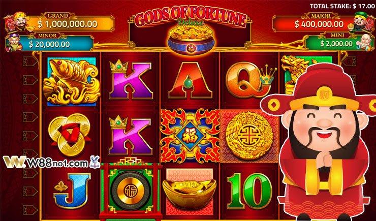 cách chơi God Of Fortune
