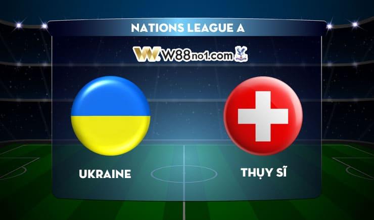 Soi kèo tỷ số nhà cái trận Ukraine vs Thụy Sĩ