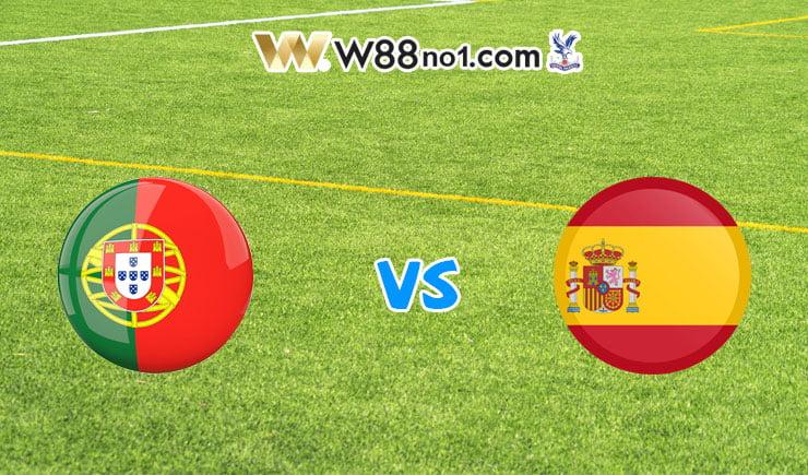 Soi kèo tỷ số bóng đá trận Bồ Đào Nha vs Tây Ban Nha