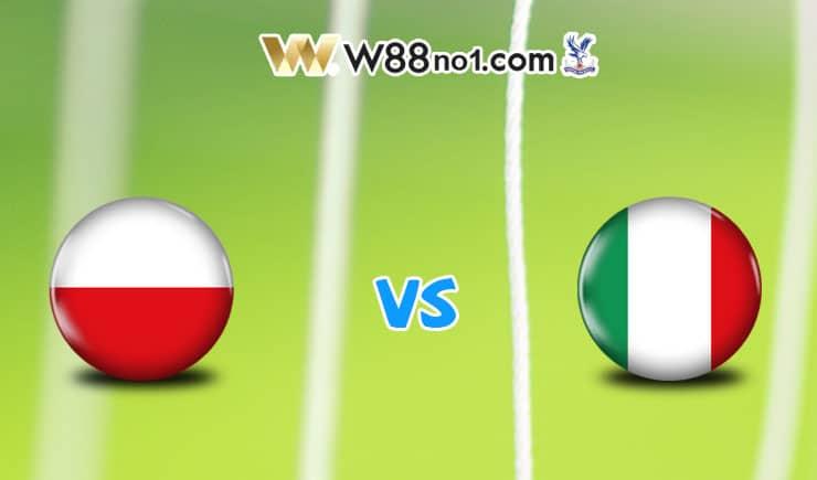 Soi kèo tỷ số bóng đá trận Ba Lan vs Italia