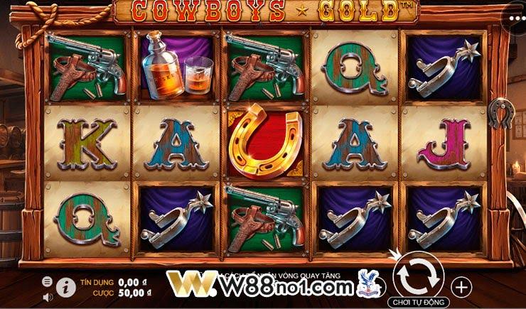 cách chơi Cowboys Gold