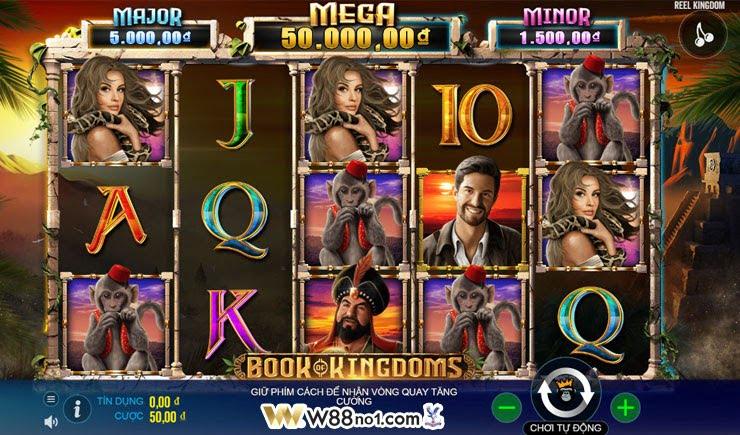 cách chơi Book of Kingdoms slot