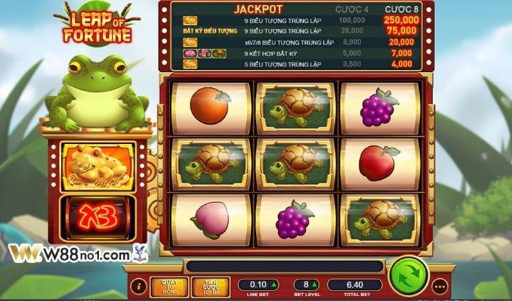 cách chơi Leap Of Fortune Slot