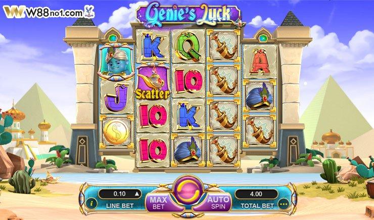 cách chơi Genie's Luck Slot