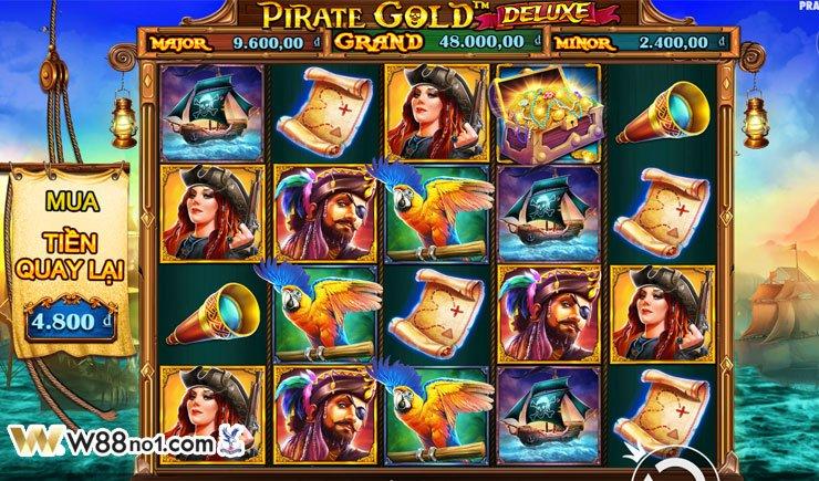 cách chơi Pirate Gold Deluxe Slot