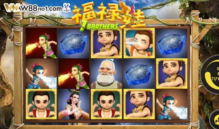 cách chơi 7 Brothers Slot