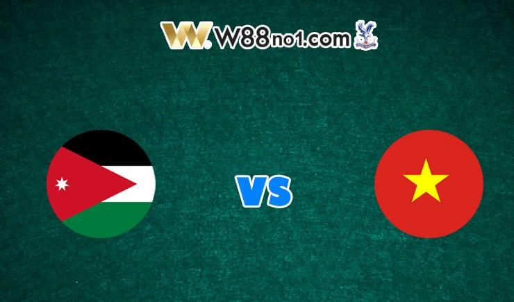 soi kèo Jordan vs Việt Nam