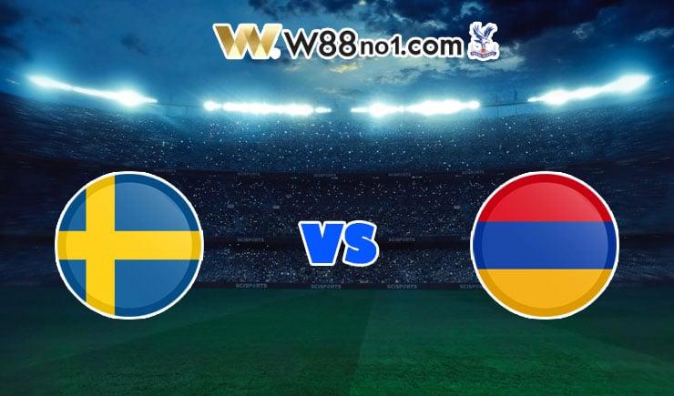 soi kèo Thụy Điển vs Armenia