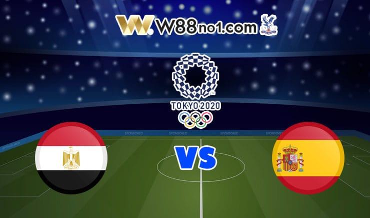 soi kèo U23 Ai Cập vs U23 Tây Ban Nha