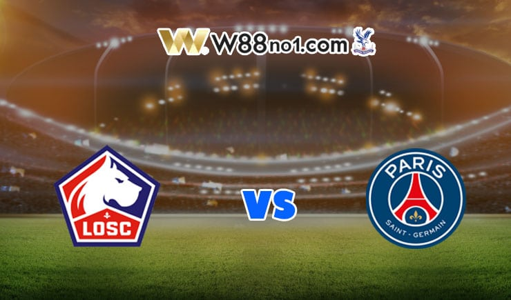 soi kèo Lille vs PSG