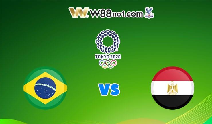 soi kèo U23 Brazil vs U23 Ai Cập