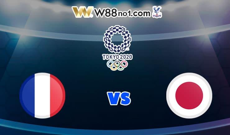 soi kèo U23 Pháp vs U23 Nhật Bản