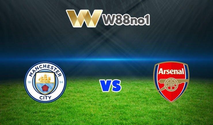 soi kèo Manchester City vs Arsenal
