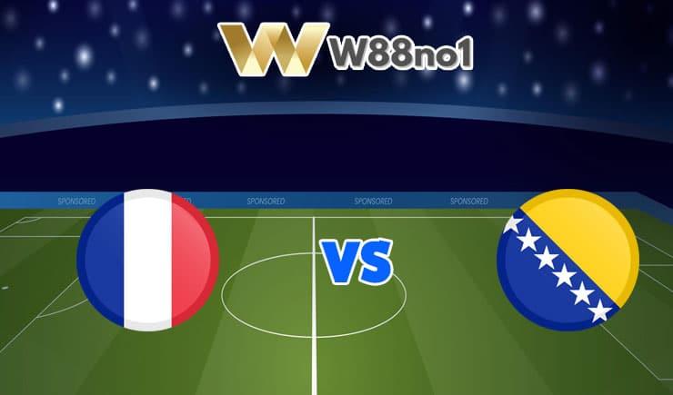 soi kèo Pháp vs Bosnia Herzegovina
