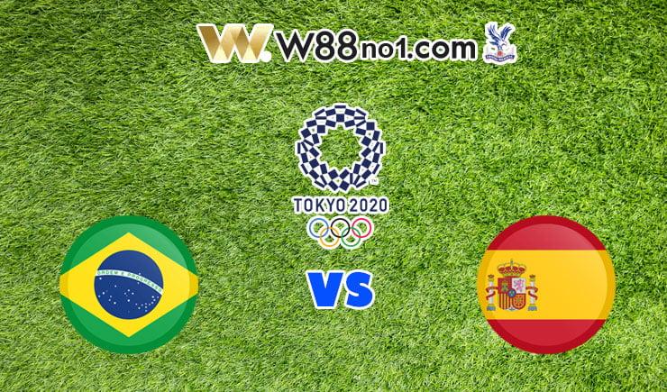soi kèo U23 Brazil vs U23 Tây Ban Nha