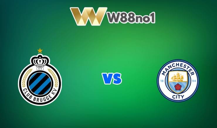 soi kèo Club Brugge vs Manchester City