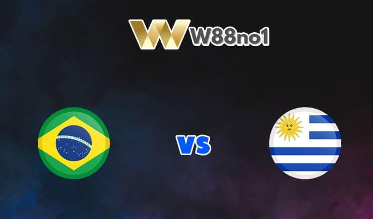 soi kèo Brazil vs Uruguay