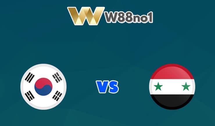 soi kèo Hàn Quốc vs Syria